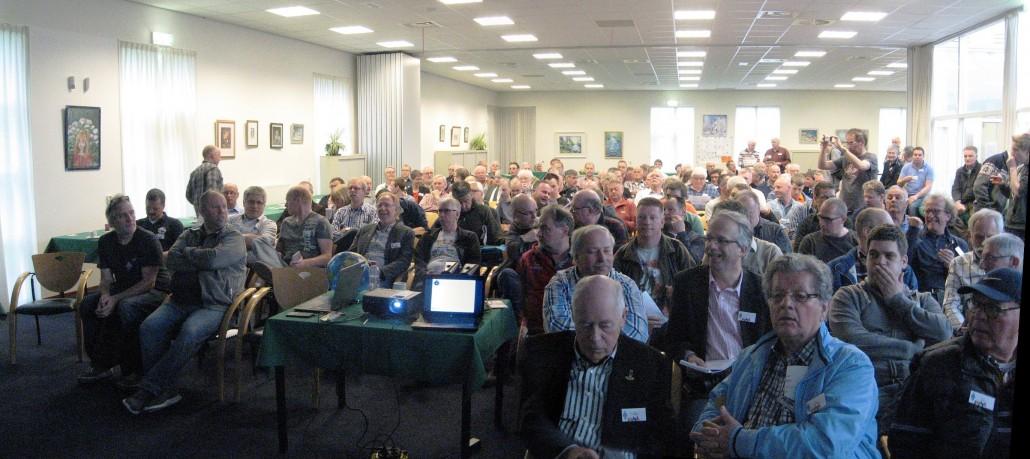 Deelnemers VHF-dag 2015