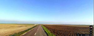 F-PA1TK-P zicht richting Nederland vanuit JN09JU